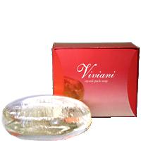 クリスタルパックソープ Viviani ヴィヴィアーニ化粧品